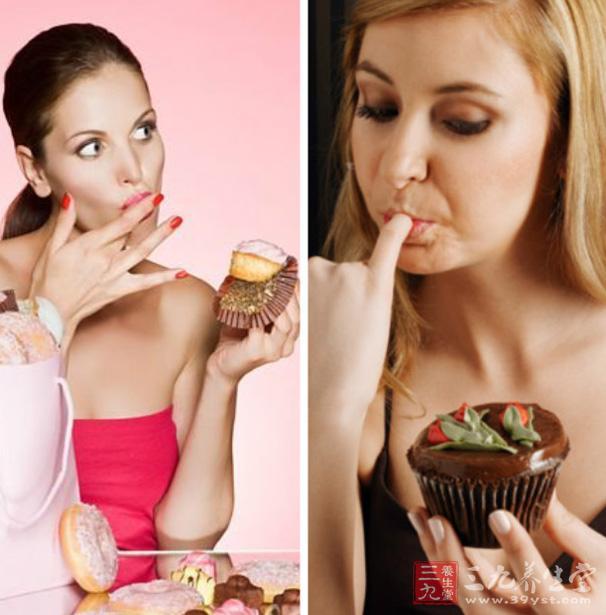 女性经期是可以吃巧克力和蛋糕的