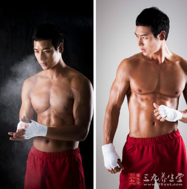 健美肌肉怎么锻练的