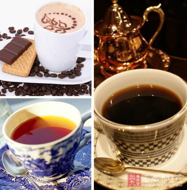 浓茶、咖啡等饮料具有兴奋性和刺激性,睡前不宜饮服