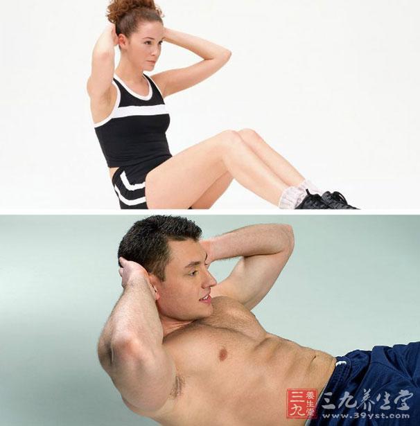 仰卧起坐针对性较强,主要锻炼的就是你腹部的力量,充分燃烧腹部的脂肪