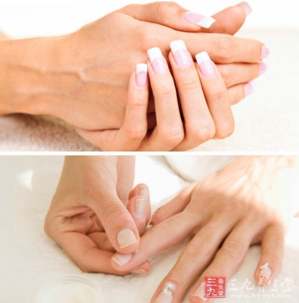 大拇指指甲上有竖纹怎么回事