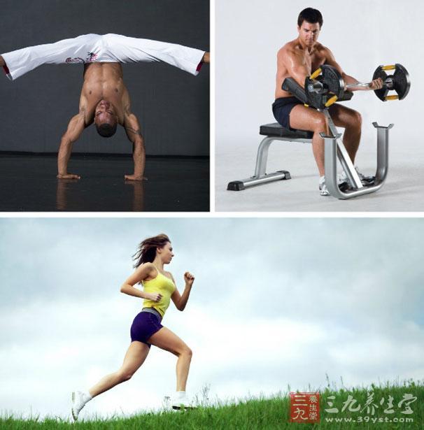 其实,完全没有必要每次健身把器械一个不落地做过去