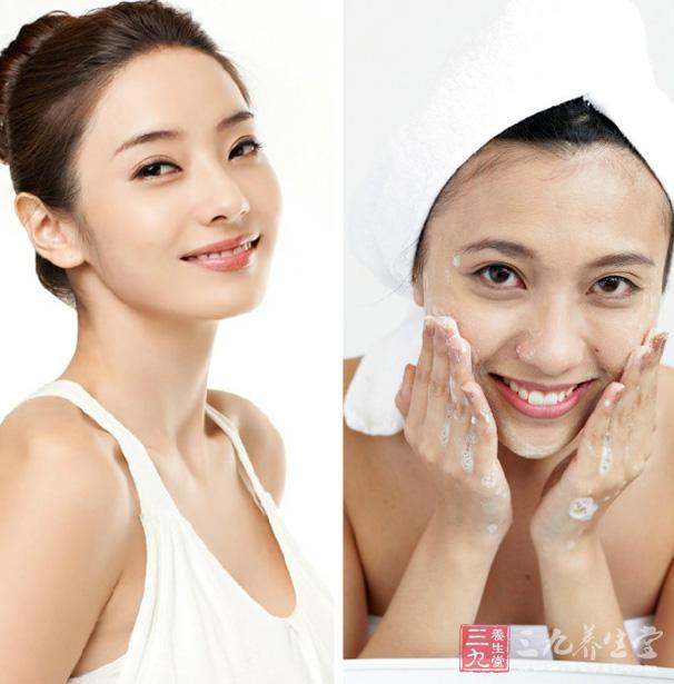 洗脸的正确方法 六个步骤帮你美白养颜(2)