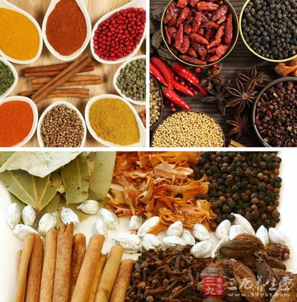 患慢性病者食用热性调料,会导致病情加重