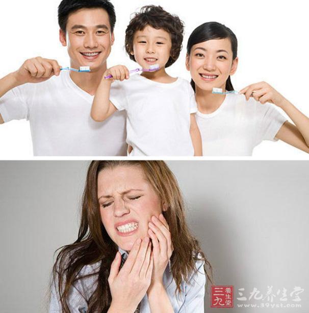 3、正确咀嚼   咀嚼的正确方法是交替使用两侧牙齿。如经常使用单侧牙齿咀嚼,则不用一侧缺少生理性刺激,易发生组织的雇用性萎缩,而常咀嚼的一侧负荷过重,易造成牙髓炎,且引起面容不端正,影响美观。   4、用力咬合   每次排尿时,满口牙齿用力咬合,每溺必做而不间断。这样可促进口腔粘膜的新代谢及牙龈的血液循环,锻炼咀嚼肌,增强牙齿的功能。   5、鼓肋漱口   每天做一两次闭口鼓腮漱口动作,并将舌头左右转动,这样能使唾液分泌增多,使牙面、牙缝和口腔粘膜受到一定的冲洗和刺激,可使口腔自洁,保护牙齿健康。