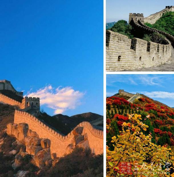 万里长城是中国古代的伟大建筑,是中华民族的象征.