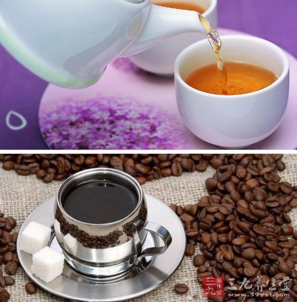 秋天尽量少喝浓茶及咖啡