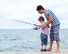 在竞技钓鱼中获胜