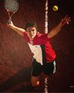 网球墙的练习方式