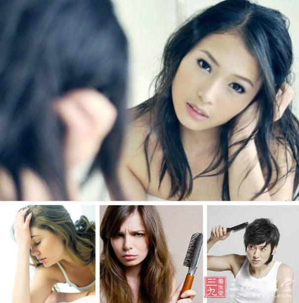 很多女性都有掉头发的烦恼,每次要参加聚会或者参加重要的场合,才临时图片