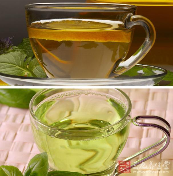 荷叶凉茶的做法