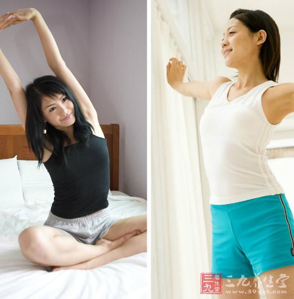 如果做两次深呼吸搭配伸懒腰动作,总共只需大约30秒时间