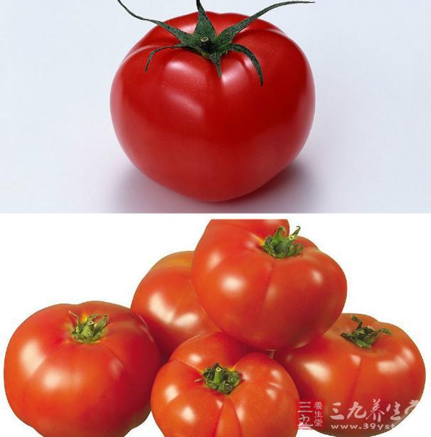 西红柿含有丰富的维生素、矿物质、碳水化合物、有机酸及少量的蛋白质
