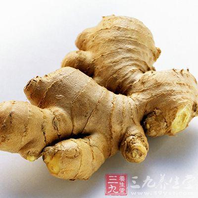 生姜,又名鲜生姜,为姜科多年生草本植物姜的根茎,全国各地均产,冬季采挖,除去须根,洗净,切片入药
