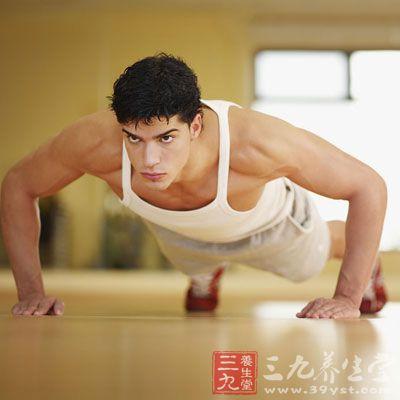 俯卧撑架锻炼方法图解