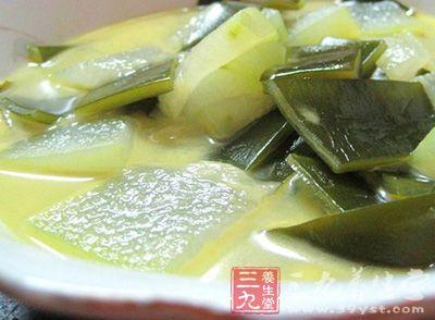 海带冬瓜汤能减肥吗 两款海带冬瓜汤的做法