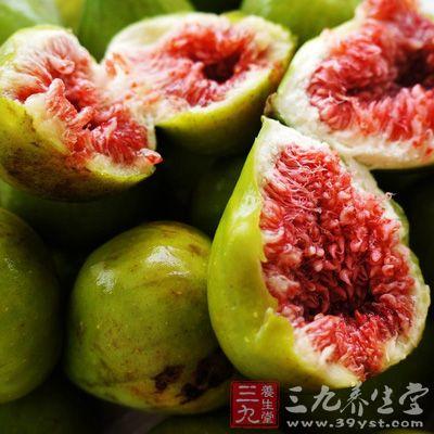无花果果实中含有大量果胶和维生素
