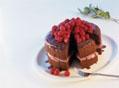 树莓奶油巧克力塔