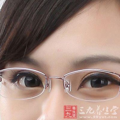 将电脑屏幕亮度调低,减少光线的眼球的刺激,如果能再戴一副防辐射的眼镜就更好了