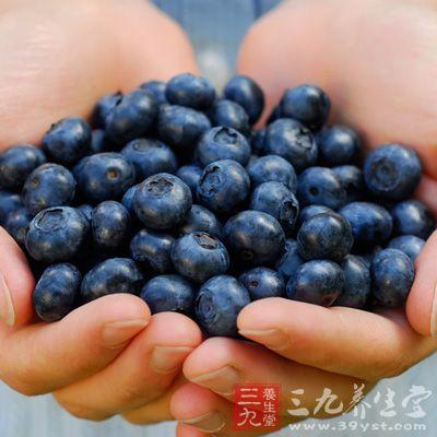 蓝莓中水溶性膳食纤维可以促进肠道蠕动