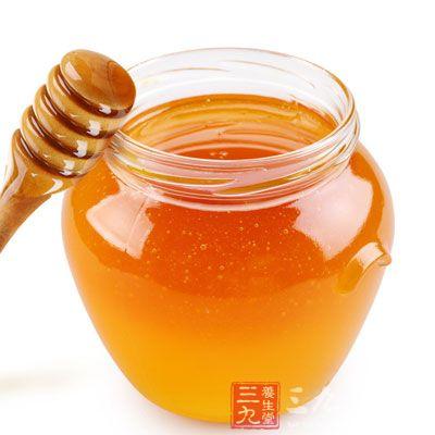 饭前一杯蜂蜜水抑制胃酸