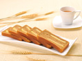 龙井茶牛奶吐司