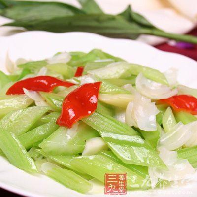 椒丝百合肉片西芹版家常菜水煮图片