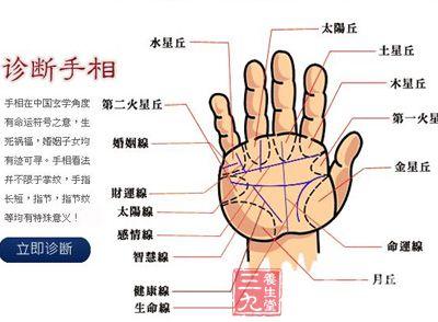 ...断掌纹.女人的手相为断掌纹性格一般是比较狠、有霸权;男人...