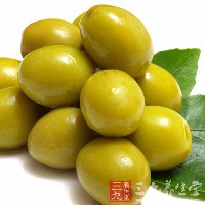 孕妇及哺乳期妇女常食橄榄,可使宝宝更聪明