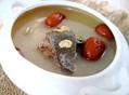 土茯苓芝麻菊花瘦肉汤