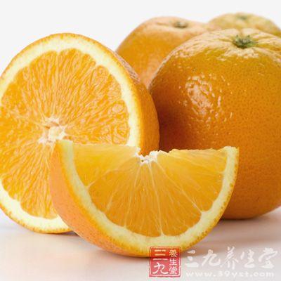 饭前来点橙子减得快