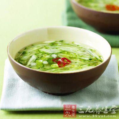 黄瓜蛋汤的简易制作方法