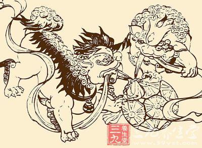 古代民俗艺人简笔画