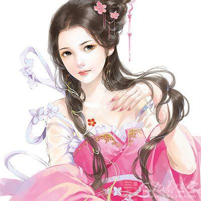 古典美女手绘全身