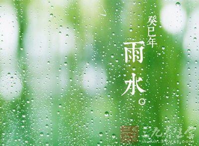 24节气- 雨水 -三九养生堂