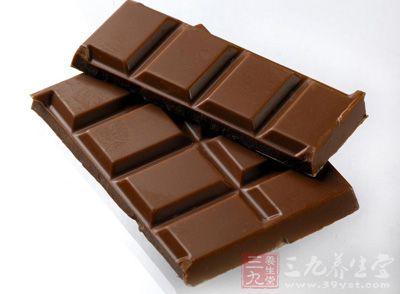 黑巧克力让你食量变小