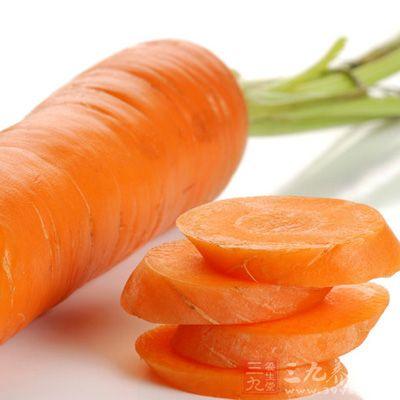 胡萝卜还含有丰富的胡萝卜素,可维护眼睛和皮肤的健康