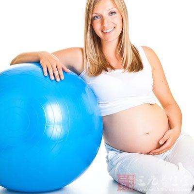 孕妈妈的体重增加了约5公斤