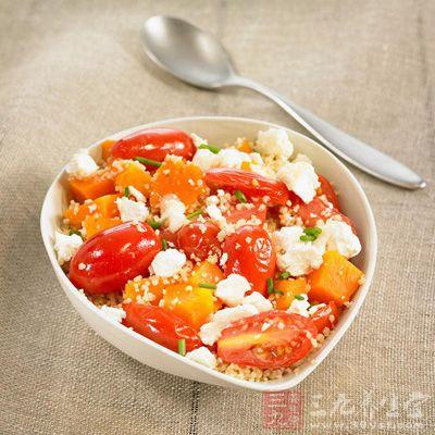 南瓜番茄排毒汤