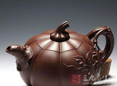黄丽萍紫砂壶作品南瓜