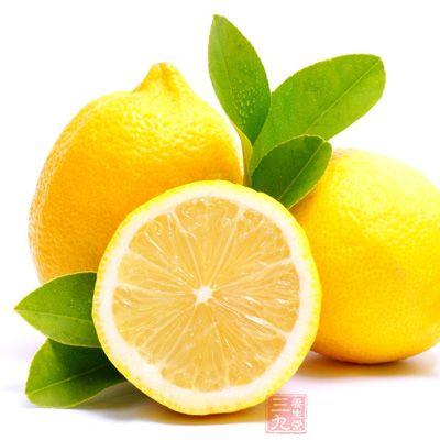 柠檬具有养肝健脾、防毒解毒的功效