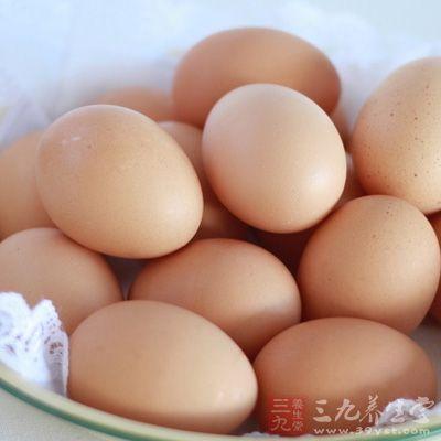 鸡蛋富含人体所需要的氨基酸