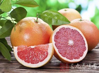这个时期适当吃点西柚是补充叶酸是非常好的