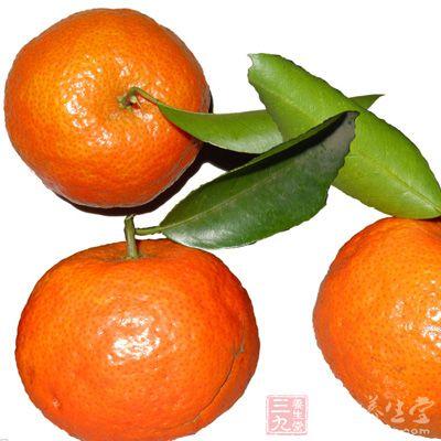 柑桔果实结构图