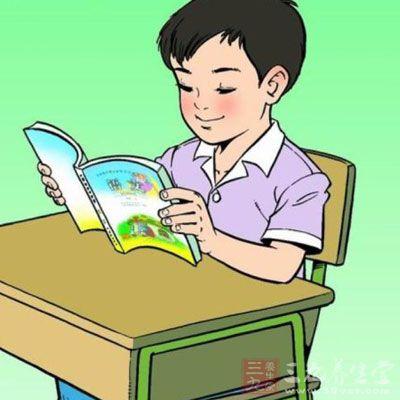 读书姿势矢量图