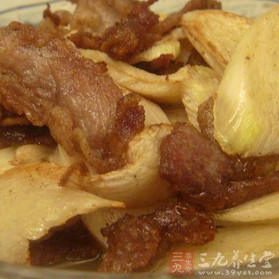 酱香茭白炒肉片怎么做