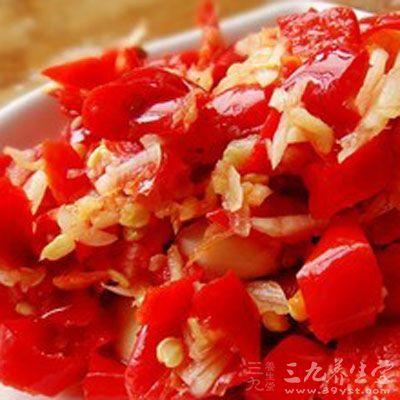 剁椒又称作为剁辣子、坛子辣椒等