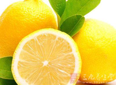 柠檬富含维他命C