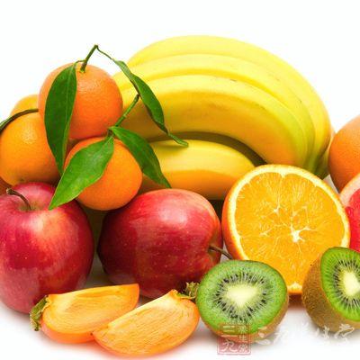 水果:包括柑橘类,苹果,香蕉