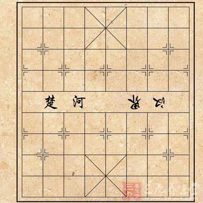 """中国象棋的的组成   棋盘   象棋棋盘棋子活动的场所,叫作""""棋盘""""."""